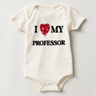 Ik houd van mijn Professor Baby Shirt
