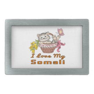 Ik houd van Mijn Somaliër Gespen