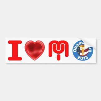 Ik houd van Mijn Stickers van de Bumper Obamacare Bumpersticker