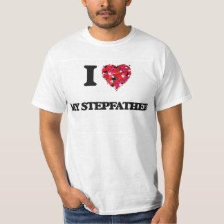 Ik houd van Mijn Stiefvader T Shirt