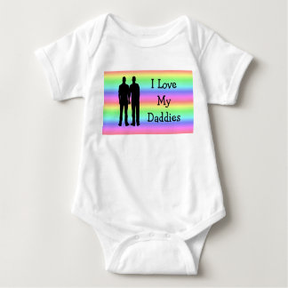 Ik houd van Mijn T-shirt van het Baby van Papa's