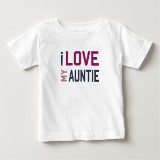 Ik houd van Mijn Tante Baby T Shirts
