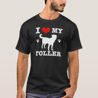 Ik houd van mijn Toller T Shirt