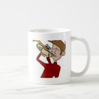 Ik houd van mijn trompet-mok koffiemok