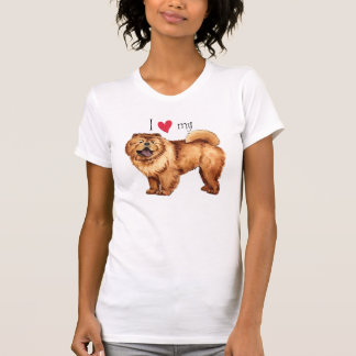 Ik houd van mijn Voer T Shirt