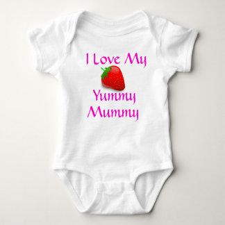 Ik houd van mijn Yummy bovenkant van het Baby van Romper