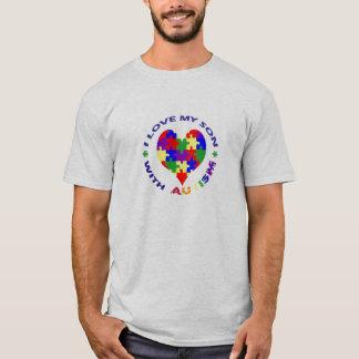 Ik houd van mijn Zoon met Autisme T T Shirt
