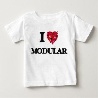 Ik houd van Modulair Baby T Shirts