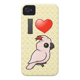 Ik houd van Moluccan Kaketoes iPhone 4 Hoesje