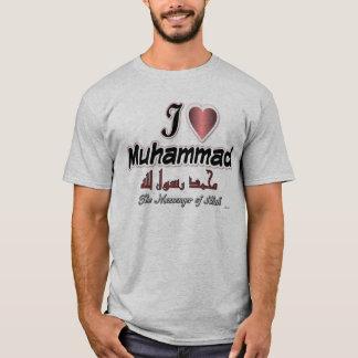 Ik houd van Muhammad, de boodschapper van Allah T Shirt