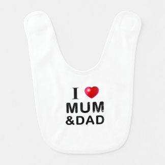 IK HOUD VAN MUM & DAD BABY SLABBETJE