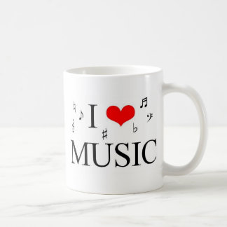 Ik houd van Muziek Koffiemok