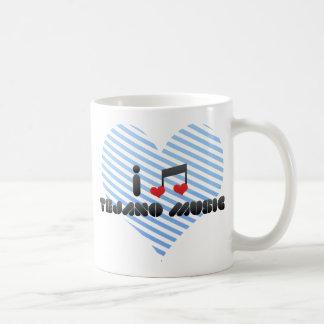 Ik houd van Muziek Tejano Bekers