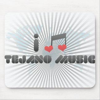Ik houd van Muziek Tejano Muis Mat