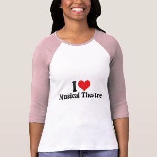 Ik houd van Muzikaal Theater T Shirt