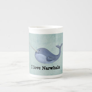 Ik houd van Narwallen Theekop