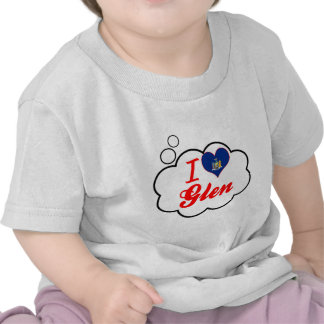 Ik houd van Nauwe vallei, New York T-shirts