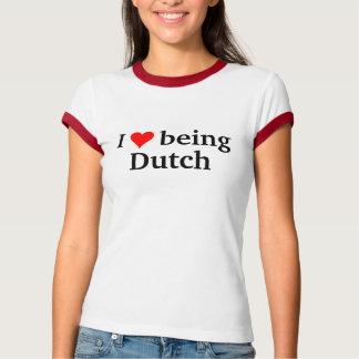 Ik houd van Nederlands zijnd T Shirt