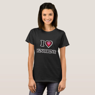 Ik houd van negerend t shirt