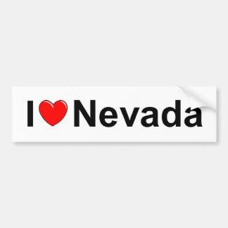 Ik houd van Nevada (van het Hart) Bumpersticker