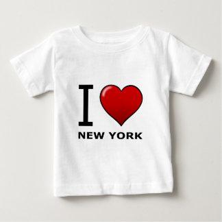 IK HOUD VAN NEW YORK BABY T SHIRTS