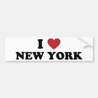 Ik houd van New York Bumpersticker