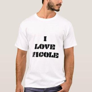 ik houd van Nicole T Shirt