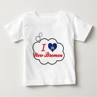 Ik houd van Nieuw Bremen, New York Tshirts
