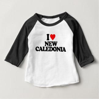 IK HOUD VAN NIEUW-CALEDONIË BABY T SHIRTS