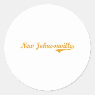 Ik houd van Nieuwe Johnsonville Tennessee Ronde Stickers