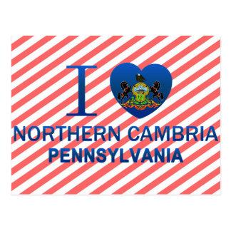 Ik houd van Noordelijke Cambria, PA Briefkaart