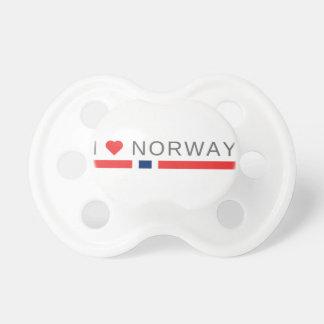 Ik houd van Noorwegen Fopspeentje