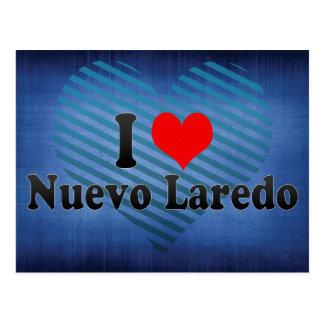 Ik houd van Nuevo Laredo, Mexico Briefkaart