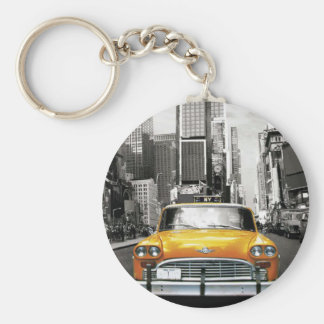 Ik houd van NYC - de Taxi van New York Sleutelhanger