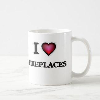 Ik houd van Open haarden Koffiemok