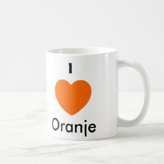 Ik houd van Oranje Basic Witte Mok