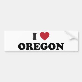 Ik houd van Oregon Bumpersticker