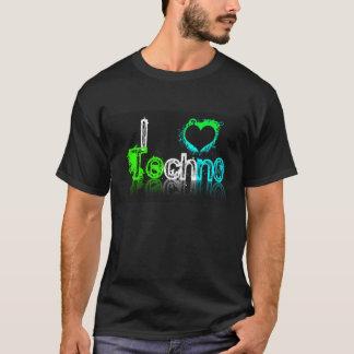 Ik houd van Overhemd Techno T Shirt