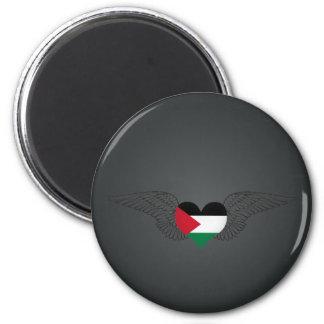 Ik houd van Palestina - vleugels Magneet