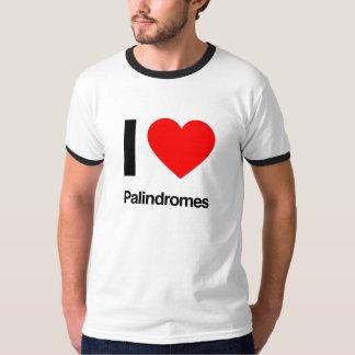 ik houd van palindromen t shirt