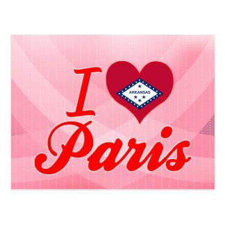 Ik houd van Parijs, Arkansas Briefkaart