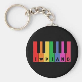 Ik houd van Piano Sleutelhanger