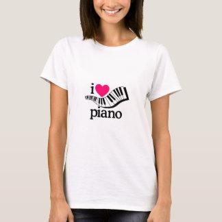 Ik houd van Piano/Toetsenbord T Shirt