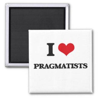 Ik houd van Pragmatici Magneet