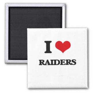Ik houd van Raiders Magneet