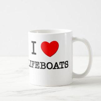 Ik houd van Reddingsboten Koffiemok