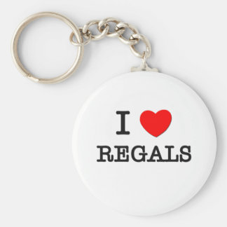 Ik houd van Regals Sleutelhanger