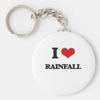 Ik houd van Regenval Sleutelhanger