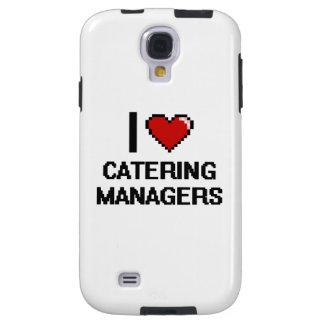 Ik houd van richtend Managers Galaxy S4 Hoesje