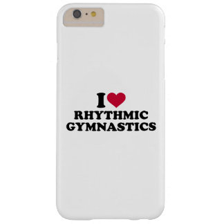 Ik houd van ritmische gymnastiek barely there iPhone 6 plus hoesje